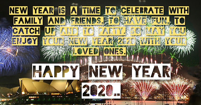 Happy New Year 2020 Wishes for Girlfriend