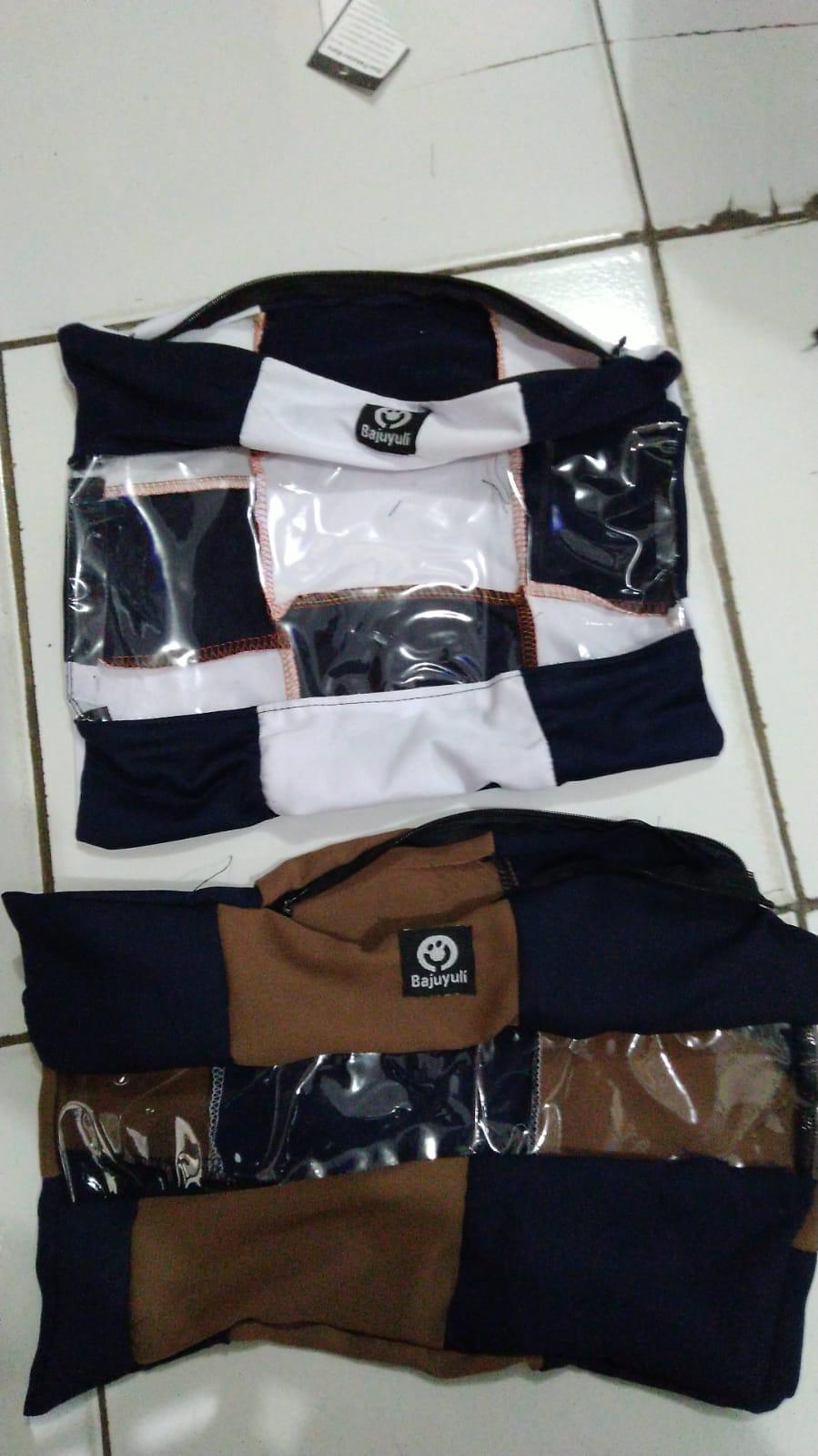 tas packing dari kain limbah, pengganti plastik