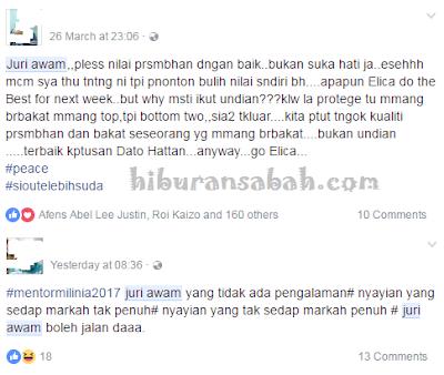 Netizen Lahir Rasa Tidak Puas Hati Terhadap Juri Awam