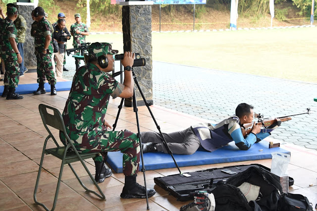 Panglima TNI : Kemampuan Menembak Menunjukkan Profesionalisme Prajurit
