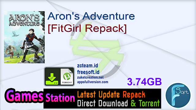 Aron's Adventure [FitGirl Repack]
