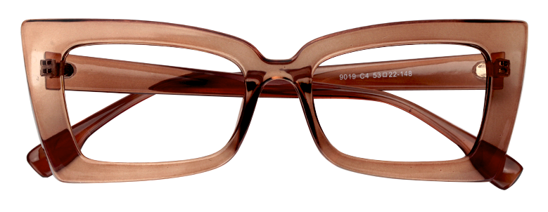 a2eeabee68cb Sarah Rectangle Tawny Eyeglasses VFP0236-01