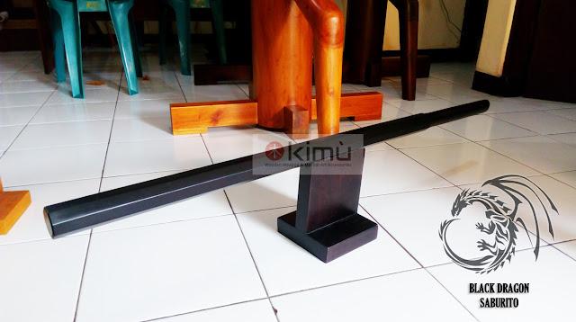 KIMU: Black Dragon Saburito (Saburito Kayu Bengkirai)