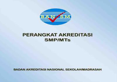 Perangkat Akreditasi untuk SMP/MTs
