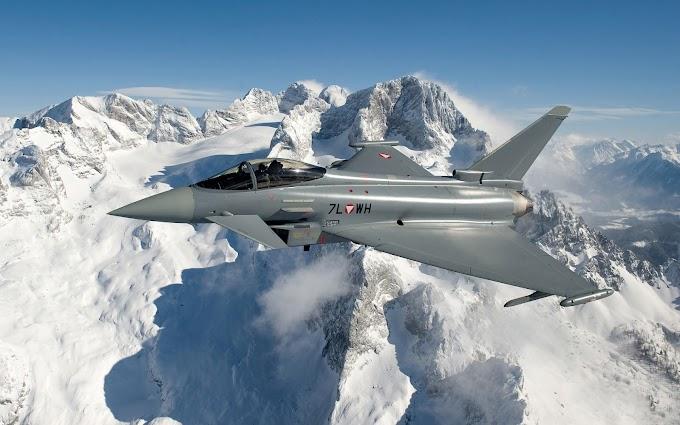 Papel de Parede Jato Eurofighter Typhoon