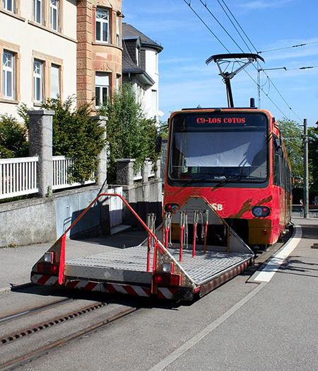 Vagón para bicis en la línea C9 de Cercedilla al Puerto de Navacerrada y Cotos