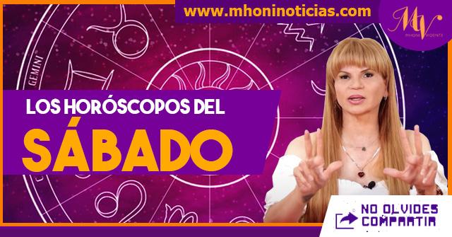 Los horóscopos del SÁBADO 31 de JULIO del 2021 - Mhoni Vidente