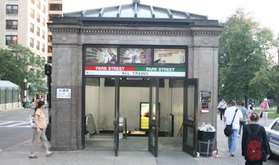 Boston Common Event Today – Park Street Subway