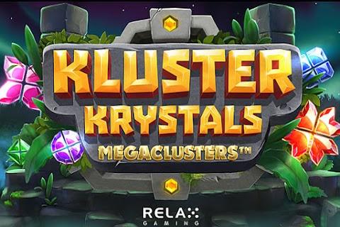 Main Gratis Slot Kluster Krystals Megaclusters (Relax Gaming) | 96.49% RTP