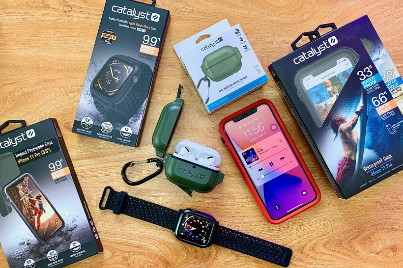 Best Catalyst Waterproof Cases for iPhone, Airpods Pro, Apple Watch
