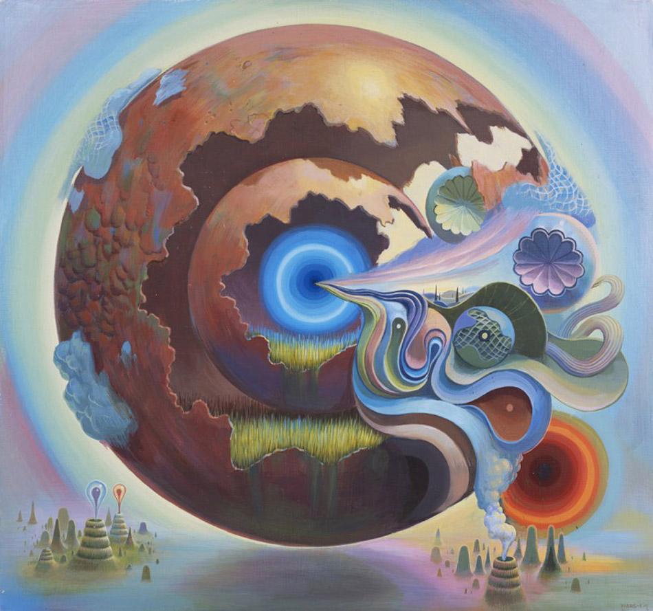 Surrealism and Visionary art: Mars-1