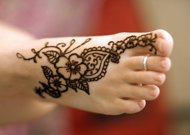 Mehndi Tattoo Designs For Legs : New henna mehndi designs images photos idea