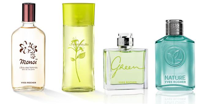 Yves Rocher Selection of Fragrances