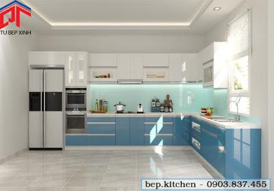 tu bep, tủ bếp, tủ bếp đẹp, nội thất bếp