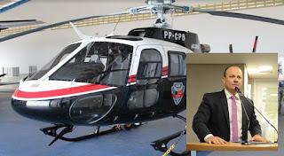 Após denúncia de deputado, MP abre Inquérito para apurar suposto superfaturamento na compra de helicóptero pelo Governo da PB