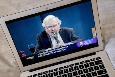 Warren Buffett Dalam Konferensi Virtual