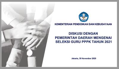 Hasil Diskusi Pemerintah Daerah Terkait Seleksi Guru PPPK Tahun 2021