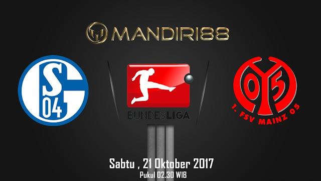 Bundesliga akan kembali bergulir memasuki putaran ke Berita Terhangat Prediksi Bola : Schalke 04 Vs FC Mainz 05 , Sabtu 21 Oktober 2017 Pukul 02.30 WIB