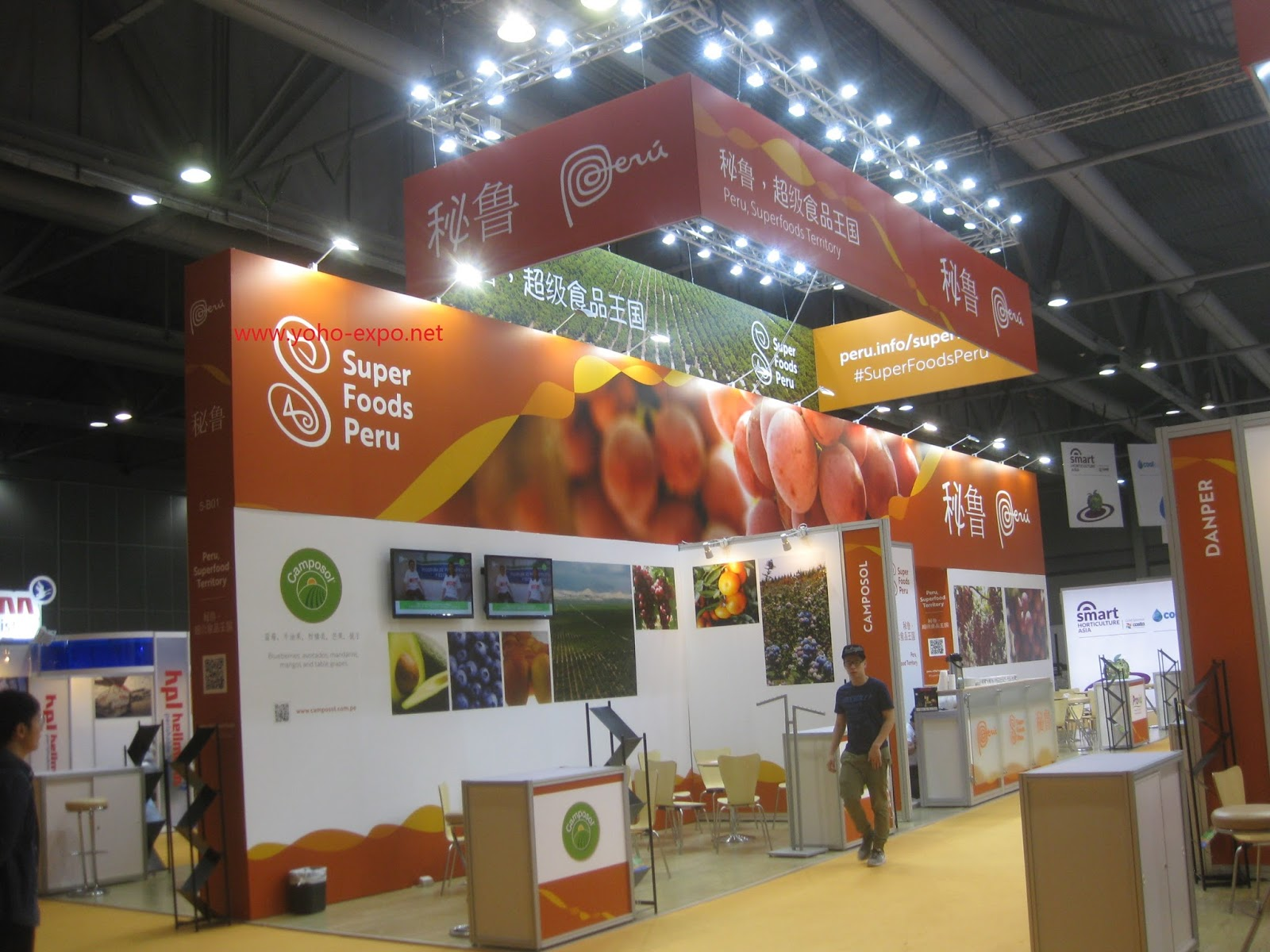 Exhibition Booth Contractor Hong Kong : Exhibit display booth stand contractor builder in china