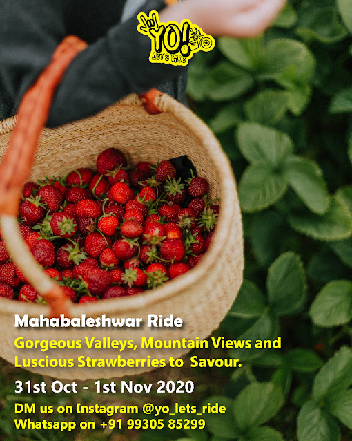 YO! Let's Ride to Mahabaleshwar | 31st Oct - 1st Nov 2020 | Register Now