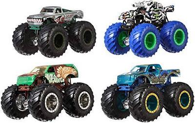 Xe Hotwheels Monster Truck 1