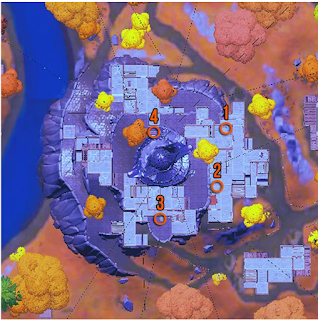 Location of Golden Artifacts Fortnite , check here