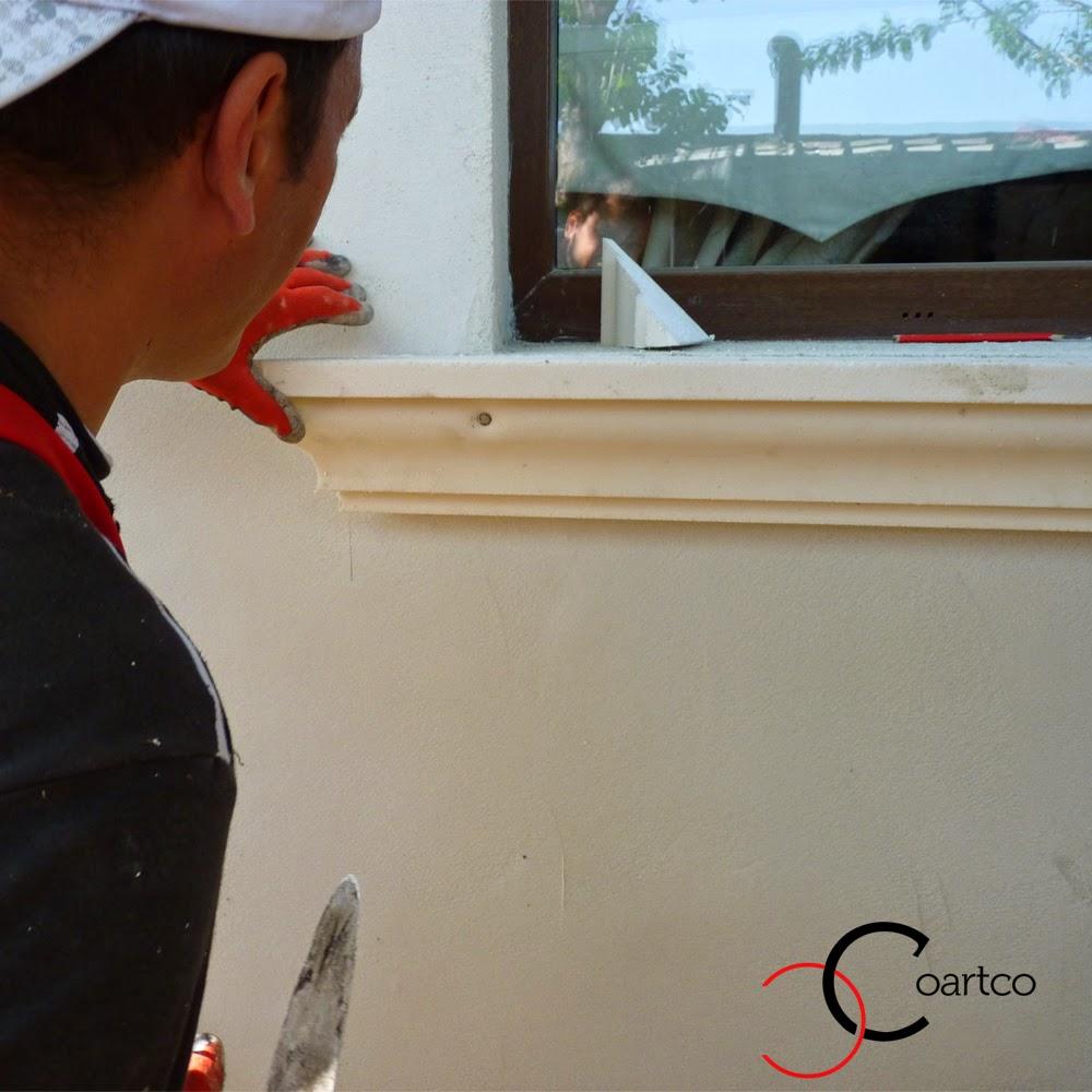 profile decorative, Firma Constructii, Montare Profile Fereste Exterioare, montare ornamente polistiren