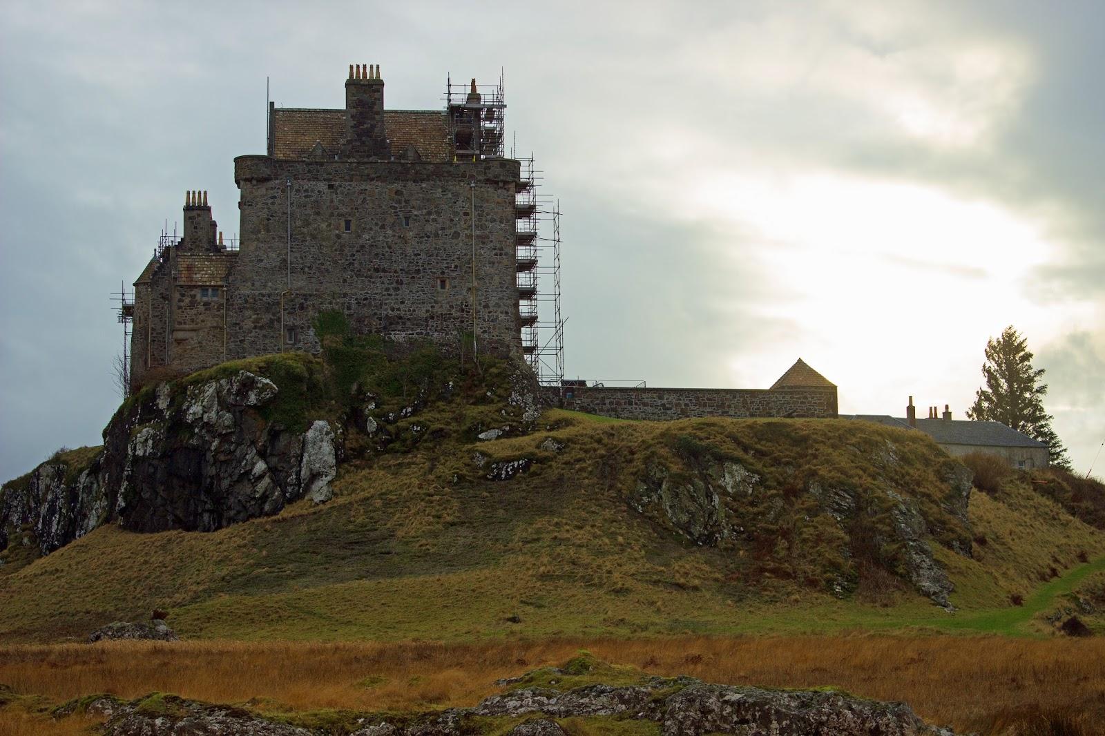 duart castle isle of mull scotland