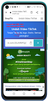 Mudah !! Cara Download Video TikTok Tanpa Watermark