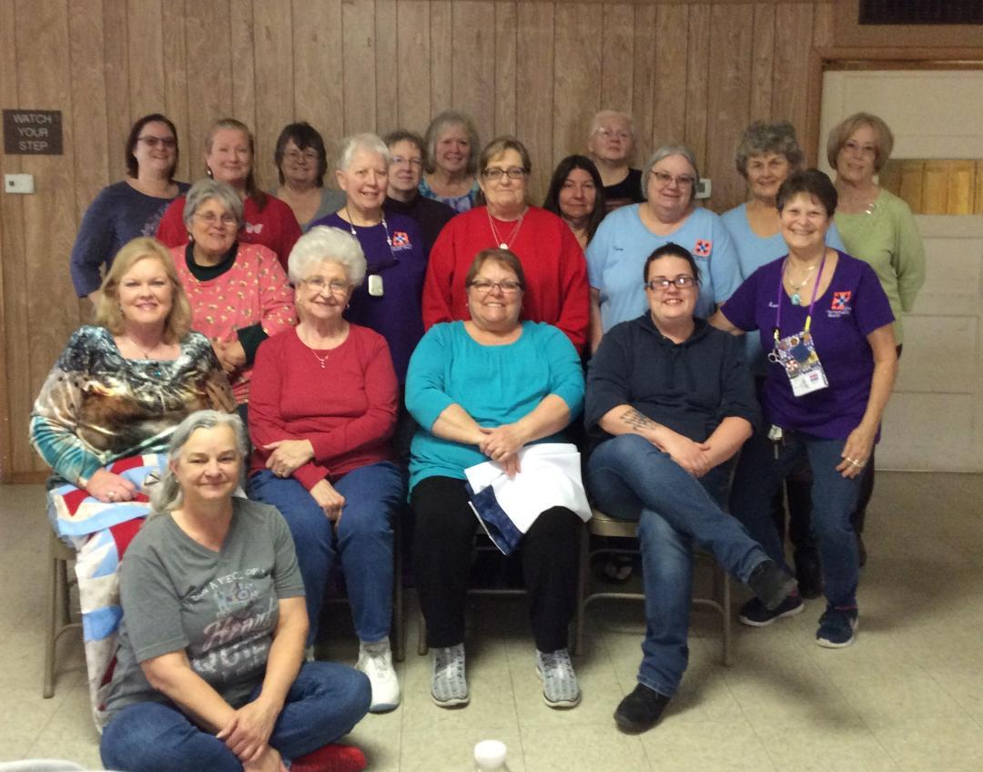 Farmersville Quilt Guild: February 2019 Celebrating National