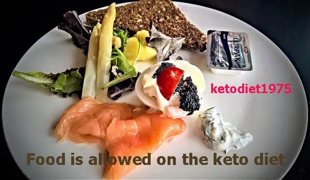 Food is allowed on the keto diet