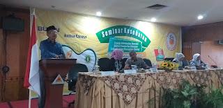 Asisten III Bidang Administrasi Kabupaten Muaro Jambi Secara Resmi Membuka Seminar Kesehatan Dan Memperingati HUT IBI Ke-68.
