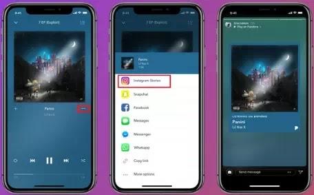 Cara Berbagi Lagu ke Cerita Instagram dari Spotify, Apple Music, dan Lainnya-10