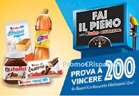 Logo Concorso ''Fai il pieno di carburante con Kinder e Ferrero 2020'' : vinci 150 buoni ENI da 200€