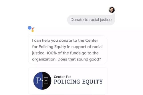 Google Assistant supports direct donation feature to humanitarian organizations