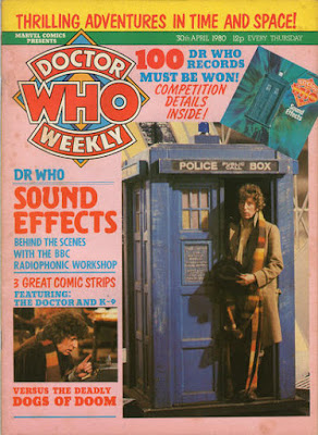 Doctor Who Weekly #29, Tom Baker