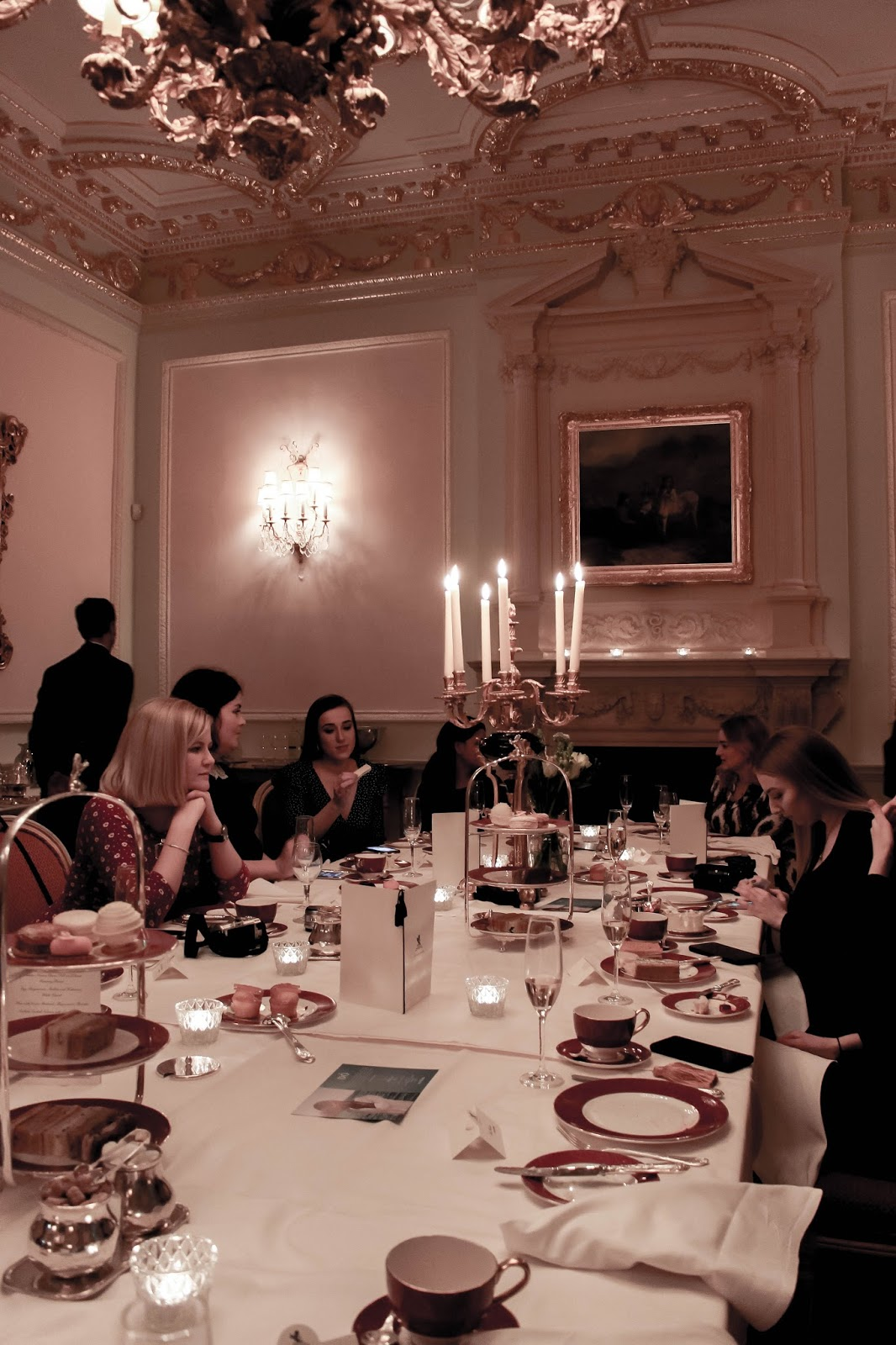 Event At The Burlington Private Dining Room at The Ritz