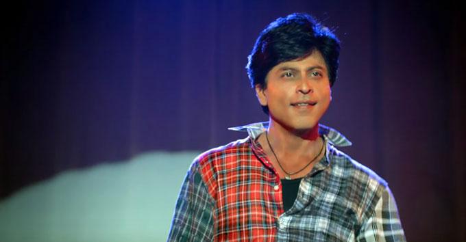 Bollywood makeovers transformations - Shahrukh Khan - Fan