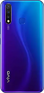 Vivo U20 (Blaze Blue, 4GB RAM, 64GB Storage)