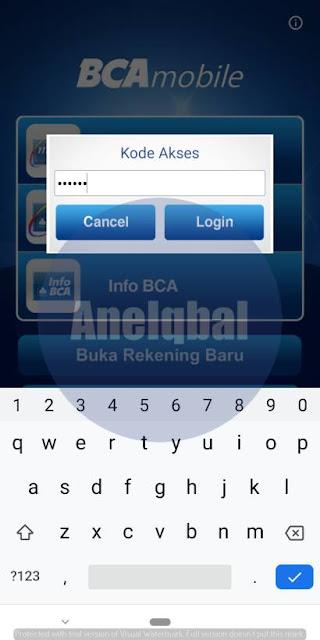 cara menghapus nomor rekening di m-banking bca 1
