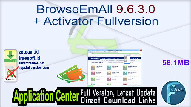 BrowseEmAll 9.6.3.0 + Activator Fullversion