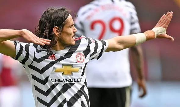What Man Utd boss Ole Gunnar Solskjaer did to Edinson Cavani after Aston Villa win