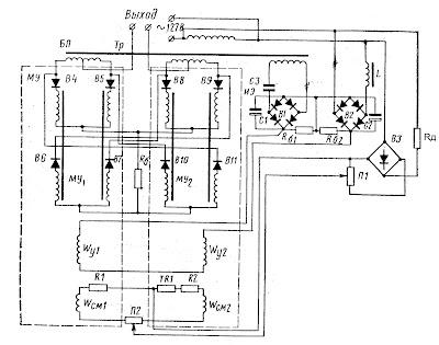 Схема датчика частоты