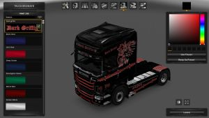 Dark Griffin Skin for Scania RJL