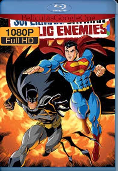 Superman/Batman: Enemigos Públicos (2009) [1080p BRrip] [Latino-Inglés] [LaPipiotaHD]
