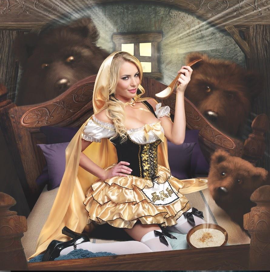 Elyza in goldilocks by amour angels