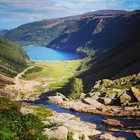 Pictures of Ireland: the lakes at Glendalough