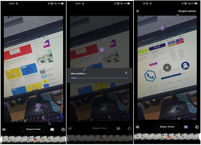 Cara Stabilkan Video di Aplikasi Google Foto Android