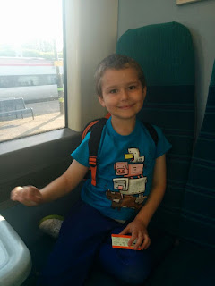 Big Boy on the Train