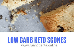 LOW CARB KETO SCONES
